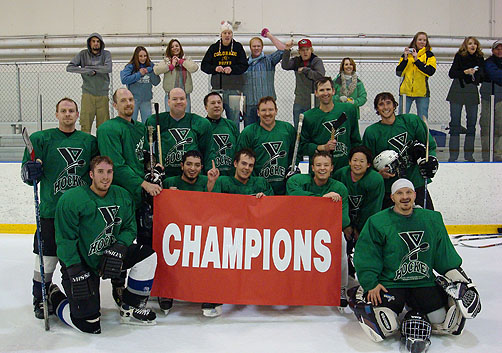 JC's YMCA Hockey Team Takes First Place!