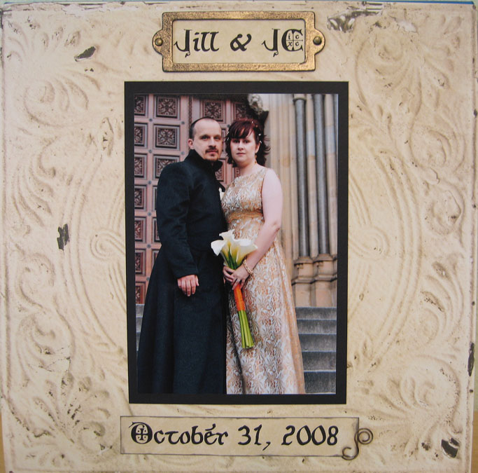 Our wedding scrapbook To view the entire album on Shutterfly